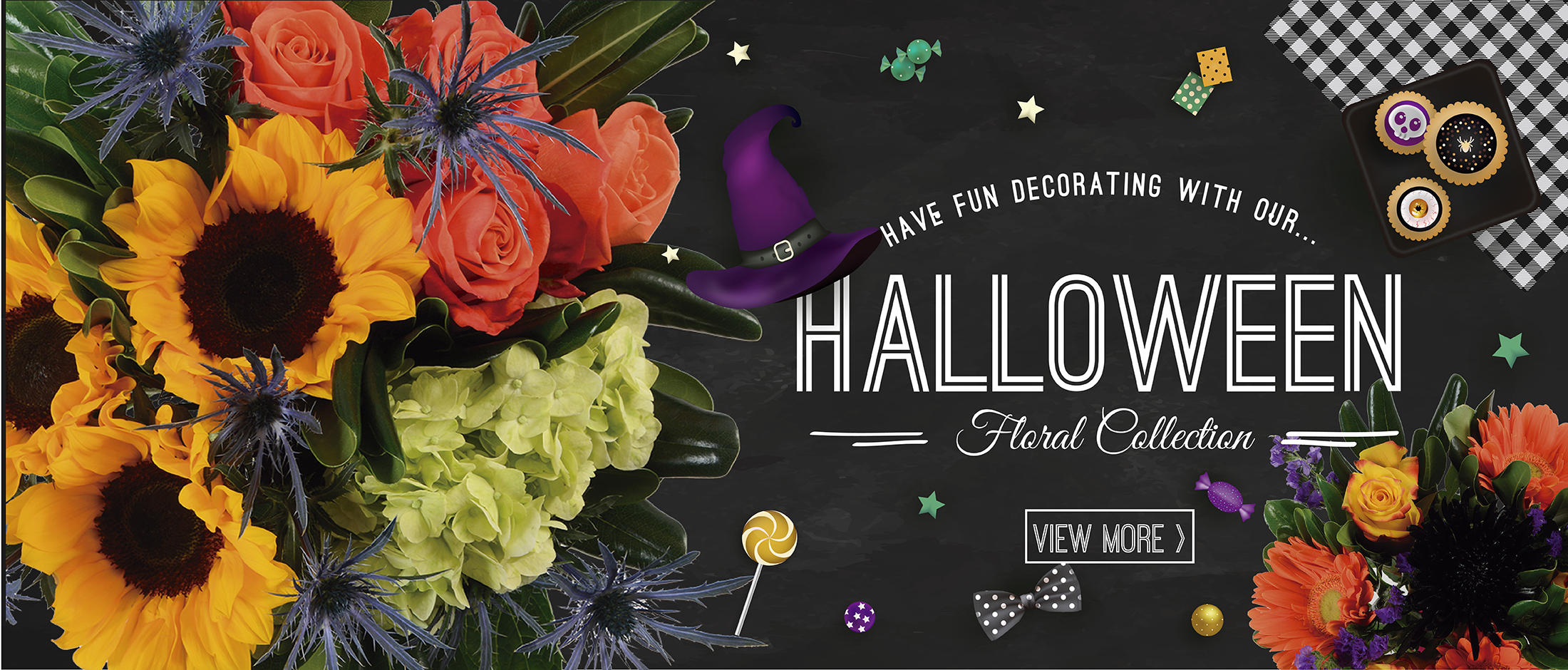 HALLOWEEN FLORAL COLLECTION